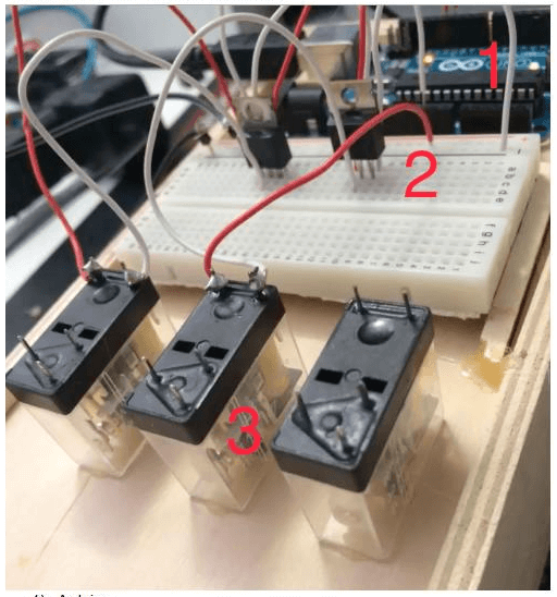 Domotica progetto btbh relay v1 0 matematicamente for Centralina domotica