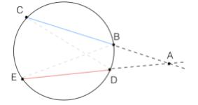 Teorema delle secanti