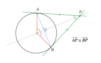 Angoli alla circonferenza matematicamente for Punto p esterno alla circonferenza