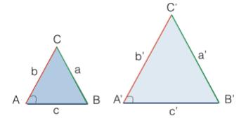 Terzo criterio di similitudine dei triangoli