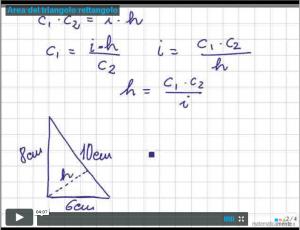 videolezione-area-triangolo-rettangolo