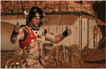 Tuta dell'astronauta protagonista del fim The Martian