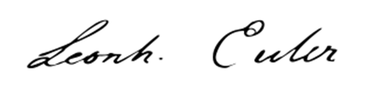 Firma di Eulero