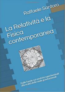 """Copertina del libro """"La Relatività e la Fisica contemporanea"""""""