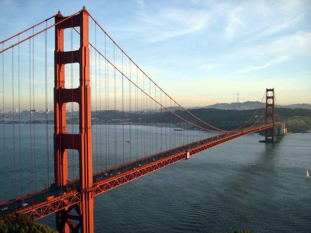 Immagine del ponte Golden Gate a San Francisco (California/USA)