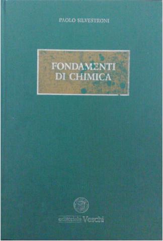 """Copertina di """"Fondamenti di chimica"""" di Paolo Silvestroni"""