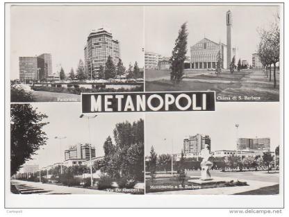 Villaggio, per i dipendenti ENI, voluto (1952) da Mattei alle porte di Milano.