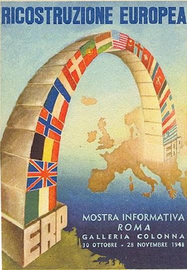 Ricostruzione Europea - Roma 1949 - Galleria Colonna