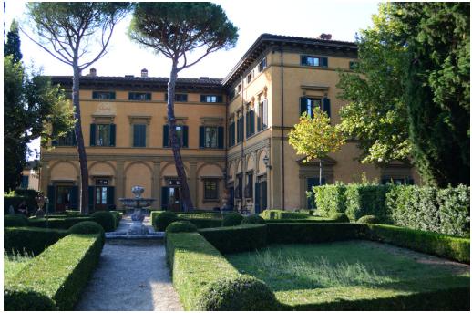 Villa Natalia, sede dell'IPSOA