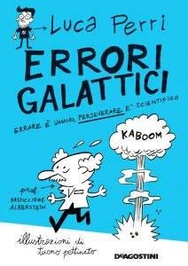 """Copertina libro """"Errori galattici"""" di Luca Perri"""