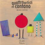 Copertina del libro «Quattro artisti che contano» di Anna Cerasoli