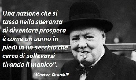 Metafora di Winston Churchill