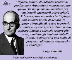 Massima di Luigi Einaudi.