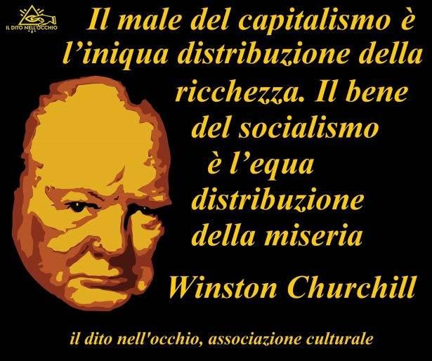 Immagine e citazione di Winston Churchill.