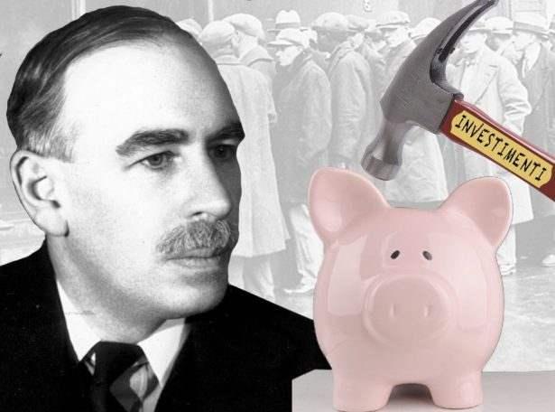 John Maynard Keynes - Investimenti.
