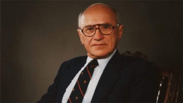 Fotografia di Milton Friedman.