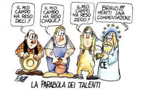 Vignetta: La parabole dei talenti