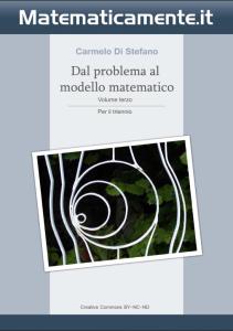 """Copertina de """"Dal problema al modello matematico"""" di Carmelo Di Stefano - Volume 3 per il triennio."""